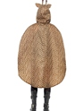 Giraffe Party Poncho Festival Costume  - Side View - Thumbnail