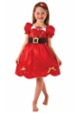 Child Girls Miss Santa Costume Thumbnail