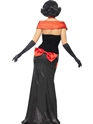Adult Glam Vampiress Costume  - Side View - Thumbnail
