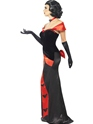 Adult Glam Vampiress Costume  - Back View - Thumbnail