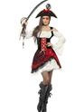 Adult Glamorous Lady Pirate Costume Thumbnail