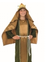 Child Gold Wise Man Costume  - Back View - Thumbnail