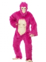 Adult Deluxe Pink Gorilla Costume Thumbnail