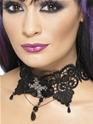 Gothic Lace Choker Thumbnail