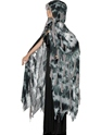 Adult Gothic Manor Ghost Cape  - Back View - Thumbnail