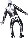 Adult Glow in the Dark Bones Costume  - Side View - Thumbnail