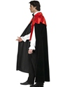 Adult Gothic Manor Vampire Costume  - Side View - Thumbnail