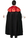 Adult Gothic Manor Vampire Costume  - Back View - Thumbnail