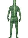 Adult Grass Pattern Second Skin Costume  - Side View - Thumbnail