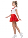 Adult Grease Sandy Cheerleader Costume  - Back View - Thumbnail