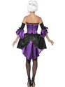 Adult Midnight Baroque Masquerade Costume  - Side View - Thumbnail