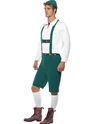 Adult Oktoberfest Beer Man Costume  - Back View - Thumbnail
