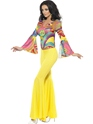 Adult Groovy Baby Costume  - Side View - Thumbnail