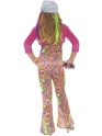 Child Groovy Glam Child Costume  - Side View - Thumbnail