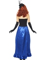 Adult Grotesque Burlesque Pin Up Costume  - Side View - Thumbnail