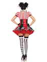 Adult Harlequin Clown Costume  - Back View - Thumbnail
