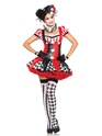 Adult Harlequin Clown Costume Thumbnail