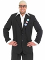 Adult Comedy TV Host Harry Hill Costume  - Back View - Thumbnail
