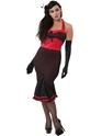 Havanna Hurricane 50's Style Burlesque Costume Thumbnail