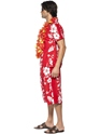 Adult Hawaiian Hunk Costume  - Side View - Thumbnail