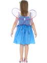 Child Hello Kitty Butterfly Fairy Costume  - Back View - Thumbnail