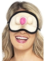 Hen Night Plush Willy Eyemask  - Back View - Thumbnail