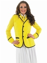 Adult Hi De Hi Female Camp Host Costume  - Back View - Thumbnail
