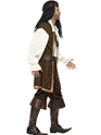 Adult High Seas Pirate Costume  - Back View - Thumbnail