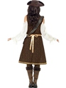 Adult High Seas Pirate Wench Costume  - Side View - Thumbnail