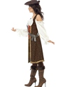Adult High Seas Pirate Wench Costume  - Back View - Thumbnail
