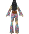Adult Hippy Flower Power Costume  - Back View - Thumbnail