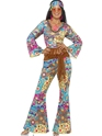 Adult Hippy Flower Power Costume Thumbnail