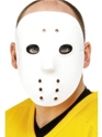 Hockey Face Mask White Pvc Thumbnail