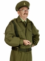 Adult Home Guard Dad's Army Costume  - Back View - Thumbnail