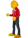Adult Honey Monster Costume  - Back View - Thumbnail