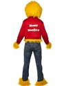Adult Honey Monster Costume  - Side View - Thumbnail