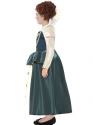 Child Horrible Histories Queen Elizabeth I Costume  - Back View - Thumbnail
