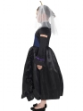 Child Horrible Histories Queen Victoria Costume  - Back View - Thumbnail