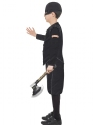Child Horrible Histories Tudor Executioner Costume  - Back View - Thumbnail