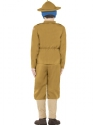 Child Horrible Histories WWI Boy Costume  - Side View - Thumbnail