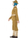 Child Horrible Histories WWI Boy Costume  - Back View - Thumbnail