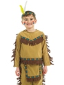 Child Indian Chief Costume  - Back View - Thumbnail