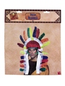 Indian Chiefs Headdress  - Back View - Thumbnail