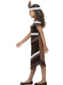 Child Indian Girl Costume  - Back View - Thumbnail