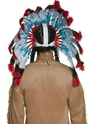 Indian Headdress  - Back View - Thumbnail