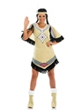 Adult Indian Scout Costume  - Back View - Thumbnail