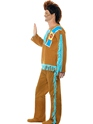 Adult Indian Warrior Costume  - Back View - Thumbnail