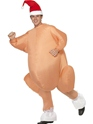 Adult Inflatable Christmas Roast Turkey Costume Thumbnail