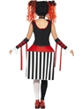 Adult Deluxe Jackie In A Box Costume  - Side View - Thumbnail