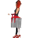Adult Deluxe Jackie In A Box Costume  - Back View - Thumbnail